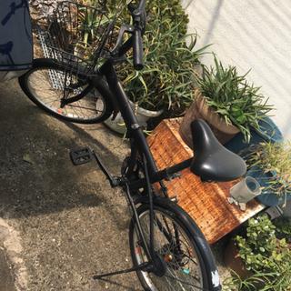 折りたたみ自転車★ブラック塗装