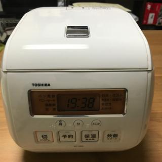 炊飯器 3合炊き TOSHIBA  RC-5SG