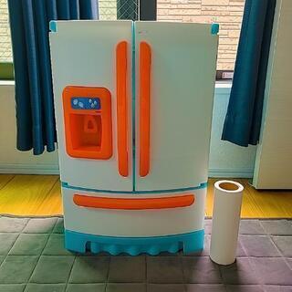 おままごと冷蔵庫+食材いろいろ