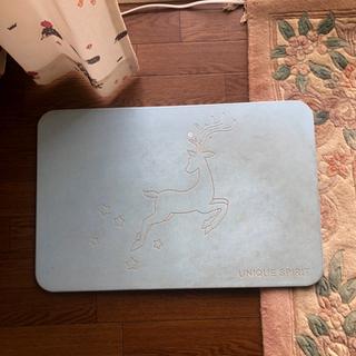 珪藻土 バスマット お風呂マット 0円 - 売ります・あげます