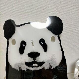 パンダのメガネホルダー