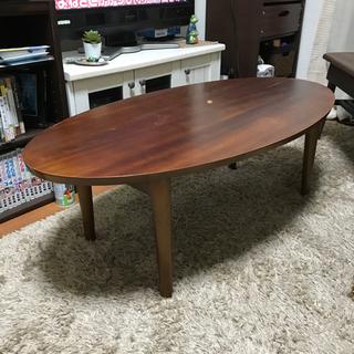 【お値引き】B-Company 楕円形テーブル