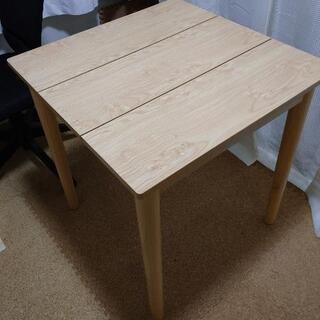 idea コンパクトダイニングテーブル W68cm×D68…