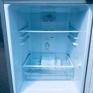 ♦️EJ1304番AQUAノンフロン冷凍冷蔵庫 【2019年製】 - 家電