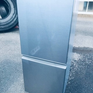 ♦️EJ1304番AQUAノンフロン冷凍冷蔵庫 【2019年製】の画像