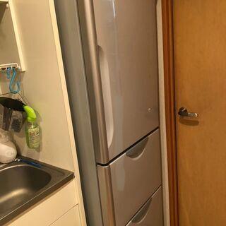 HITACHI冷蔵庫:307L:ファミリー:製氷機・真空チルド - 売ります・あげます