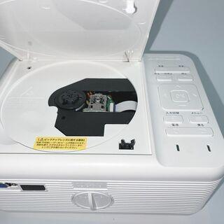 【自宅で簡単シアター!】プロジェクター RAMASU RA-PD080 動画確認のみ  - 家電