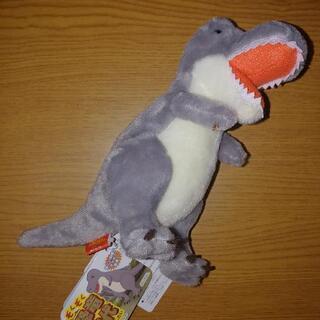 【ネット決済】ティラノサウルス(グレー)恐竜時代ぬいぐるみ