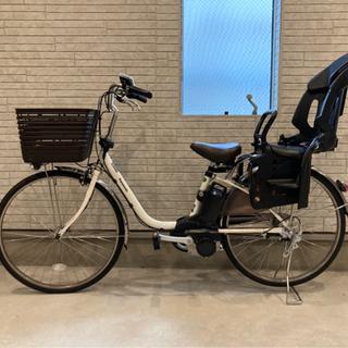 人気のPanasonicの電動アシスト自転車ビビ・DX、子供乗せ...