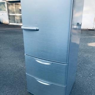 ♦️EJ1316番AQUAノンフロン冷凍冷蔵庫 【2013…