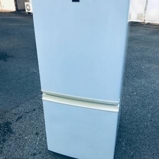♦️EJ1317番 SHARPノンフロン冷凍冷蔵庫 【20…
