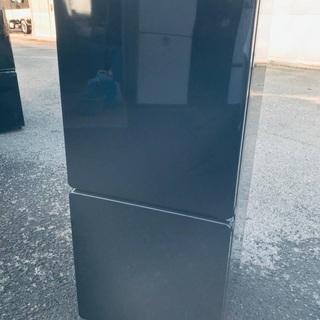 ♦️EJ1321番 U-ING ノンフロン冷凍冷蔵庫 【2…
