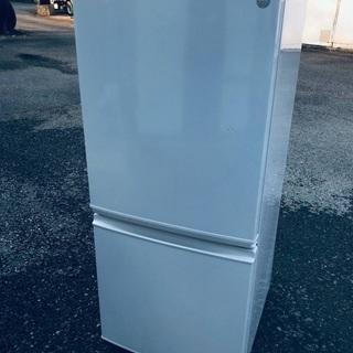 ♦️EJ1322番 SHARPノンフロン冷凍冷蔵庫 【20…