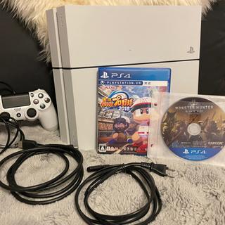 PlayStation®4 グレイシャー・ホワイト CUH…