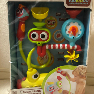 【未使用】キッズ お風呂おもちゃ 電池式ポンプのシャワー付き