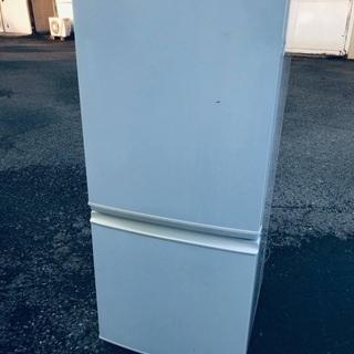 ♦️EJ1324番 SHARPノンフロン冷凍冷蔵庫 【20…