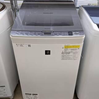 2018年製 SHARP 8.0/4.5kg洗濯乾燥機 E…