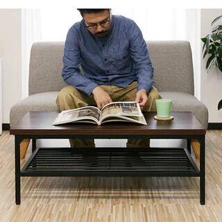 【ネット決済】ローテーブル テーブル センターテーブル スチール...