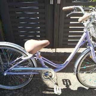 子供用自転車②女の子 24インチ