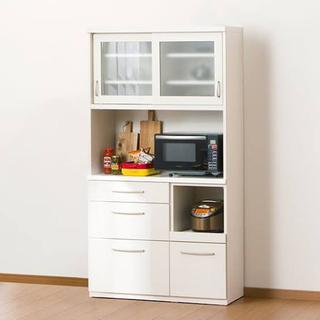 ニトリ コパン100KB 食器棚 キッチンボード