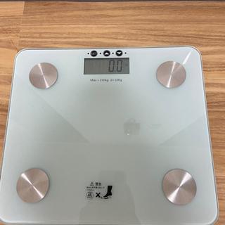 体重計 ほぼ新品