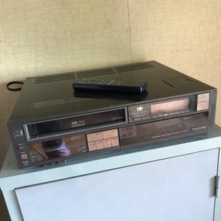 ナショナル VHS ビデオカセットレコーダー