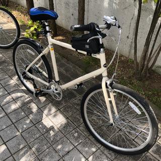 【ネット決済】★本年7月購入 乗車回線10回未満の美品クロスバイク