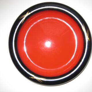 菓子鉢 漆塗り 天然木製 (未使用品)