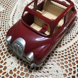 シルバニアファミリー 赤い車