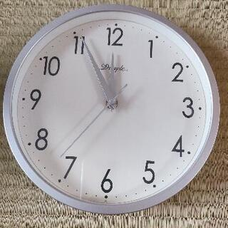 音が静かな壁掛け時計