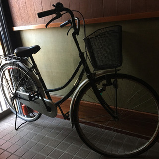 自転車です!