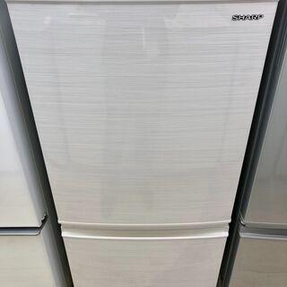 中古 2020年製 137L冷凍冷蔵庫 SHARP SJ-…