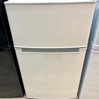 中古 2020年製 85L冷凍冷蔵庫 アマダナ AT-RF…