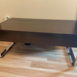 ほぼ新品 dinos 昇降式ローテーブルの画像