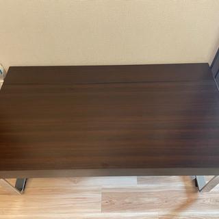 ほぼ新品 dinos 昇降式ローテーブル - 家具