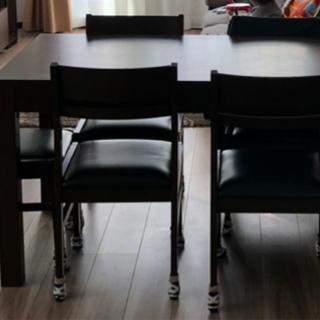 食卓テーブル6人がけ - 小樽市