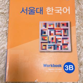 ソウル大学語学堂3級Bの問題集の画像