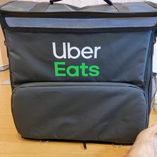 【ネット決済・配送可】ウーバーイーツのバッグ
