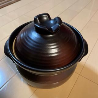 萬古焼の3合炊き鍋