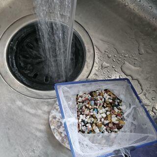 五色石(中)10kg程度 金魚 熱帯魚 砂利 差し上げます…