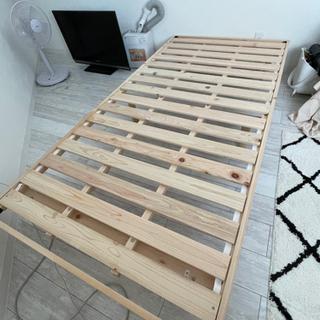 木製シングルベット