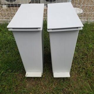 無印良品ゴミ箱 2個セット【ポリプロピレンダストボックス・…