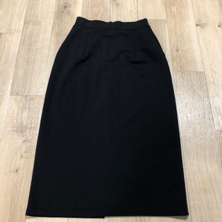 黒 タイトスカート フリーサイズ