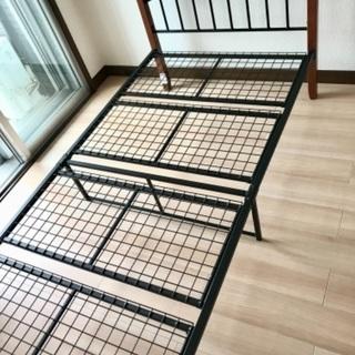 ニトリ シングルベッドフレーム