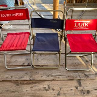 キャンプ用 パイプ椅子