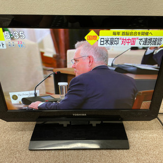 TOSHIBA テレビ 19インチ 19A2
