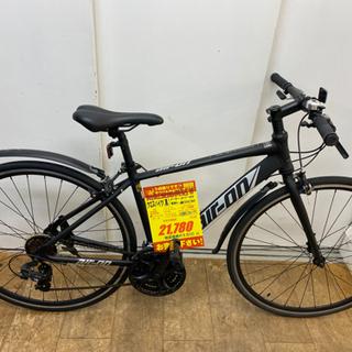 N026★ air-on 黒色・クロスバイク★防犯登録料込