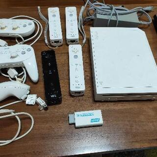 【価格交渉可】 Wii本体、リモコン、HDMI出力