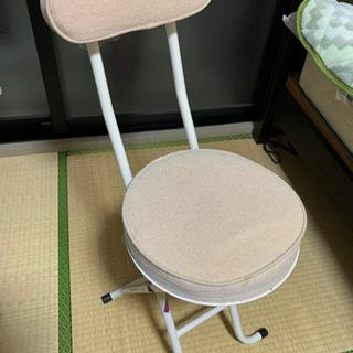 中古 折り畳み椅子 2脚セット
