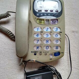 電話機 SANYO CUTE TEL-M58  留守電機能あり ...